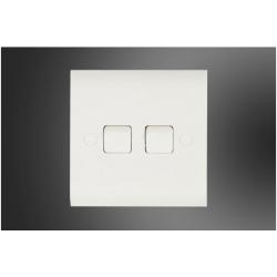 """4"""" Round Mug -Red White brand Italiano"""