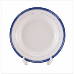 SS Soup Bowl With Lid 18cm