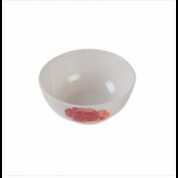 Dispo Lunch Box Medium Size 100 Pcs Set White