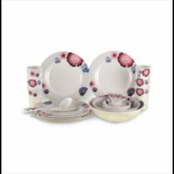Dispo Lunch Box Large Size 100 Pcs Set White